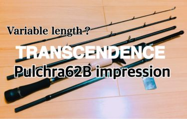 【インプレ】可変長型パックロッド!?トランスセンデンス プルクラ62B